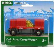 BRIO 33938 Gold Load Cargo Wagon